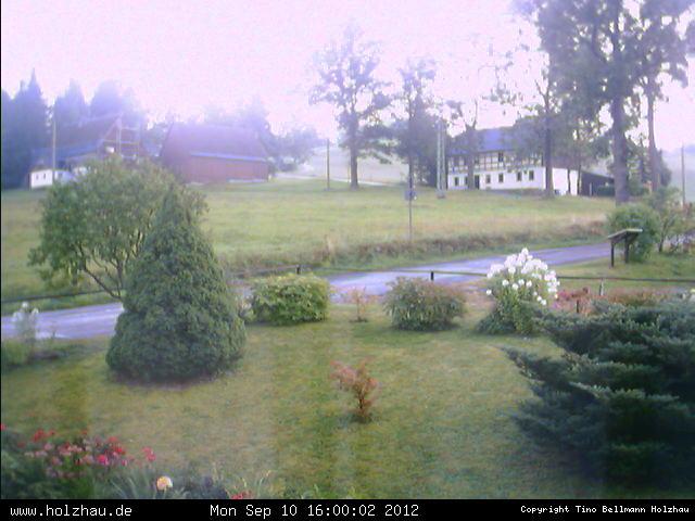 Wetter am 10.09.2012 in Holzhau (Erzgebirge)