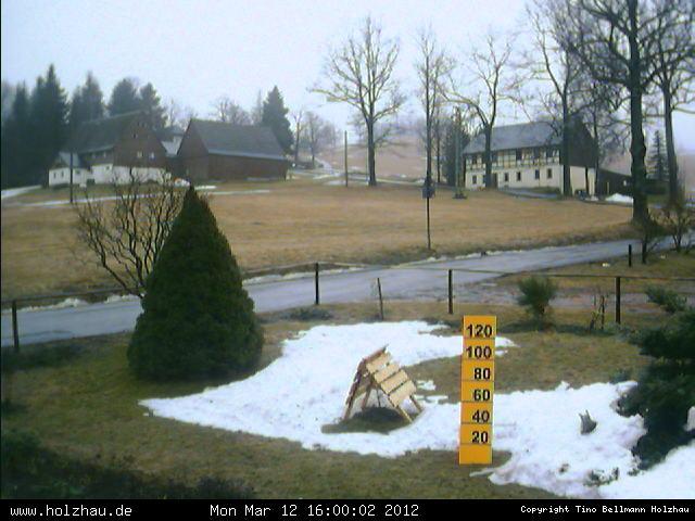 Wetter am 12.03.2012 in Holzhau (Erzgebirge)