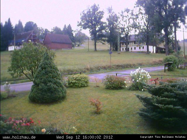 Wetter am 12.09.2012 in Holzhau (Erzgebirge)