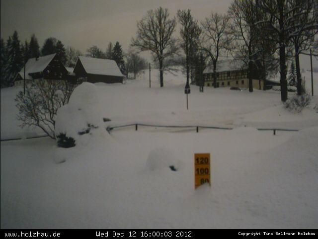 Wetter am 12.12.2012 in Holzhau (Erzgebirge)