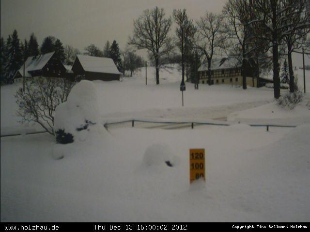 Wetter am 13.12.2012 in Holzhau (Erzgebirge)