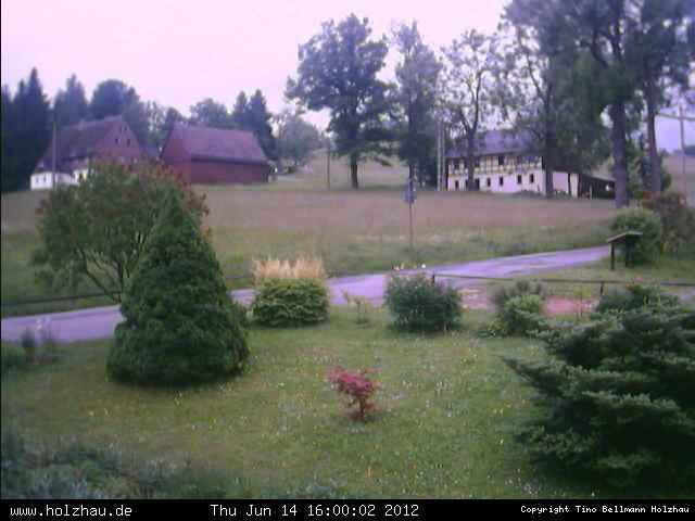 Wetter am 14.06.2012 in Holzhau (Erzgebirge)