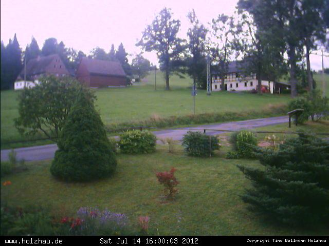 Wetter am 14.07.2012 in Holzhau (Erzgebirge)