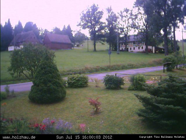 Wetter am 15.07.2012 in Holzhau (Erzgebirge)