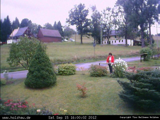 Wetter am 15.09.2012 in Holzhau (Erzgebirge)
