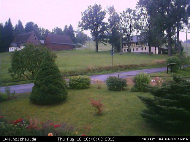 Wetter am 16.08.2012 in Holzhau (Erzgebirge)