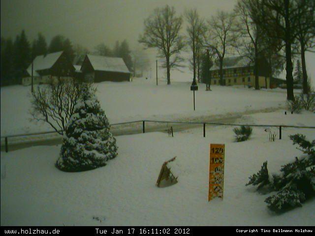 Wetter am 17.01.2012 in Holzhau (Erzgebirge)