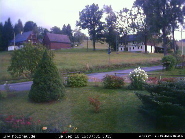 Wetter am 18.09.2012 in Holzhau (Erzgebirge)