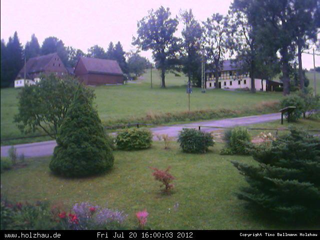 Wetter am 20.07.2012 in Holzhau (Erzgebirge)