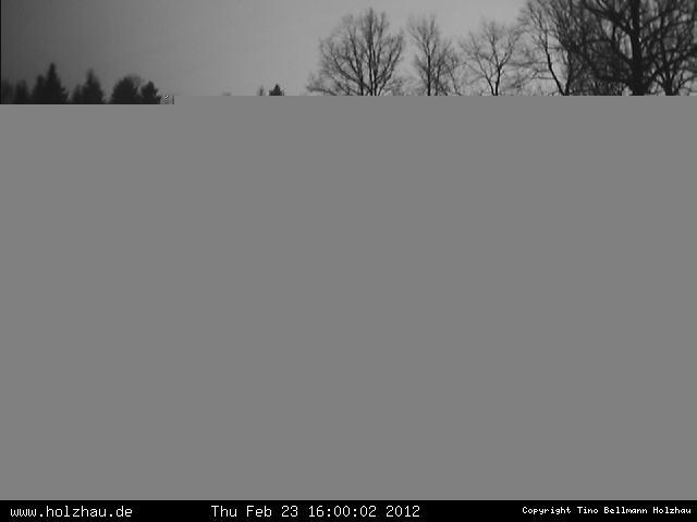 Wetter am 23.02.2012 in Holzhau (Erzgebirge)