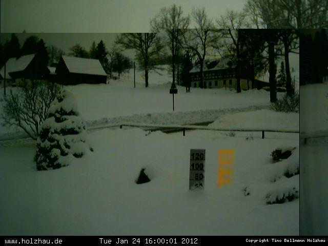 Wetter am 24.01.2012 in Holzhau (Erzgebirge)