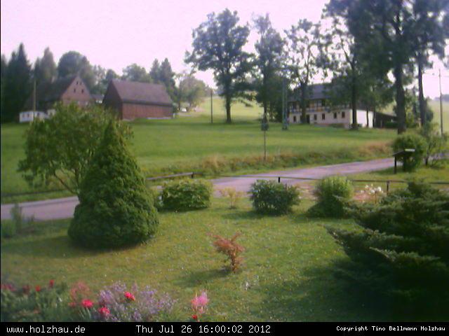 Wetter am 26.07.2012 in Holzhau (Erzgebirge)