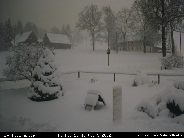 Wetter am 29.11.2012 in Holzhau (Erzgebirge)