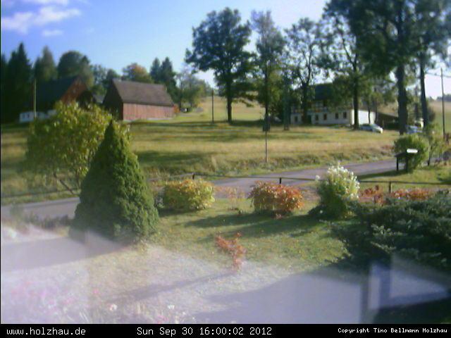 Wetter am 30.09.2012 in Holzhau (Erzgebirge)