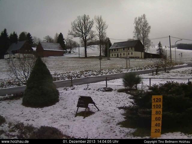Wetter am 01.12.2013 in Holzhau (Erzgebirge)