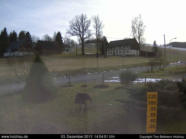 Wetter am 03.12.2013 in Holzhau (Erzgebirge)