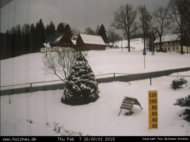 Wetter am 07.02.2013 in Holzhau (Erzgebirge)