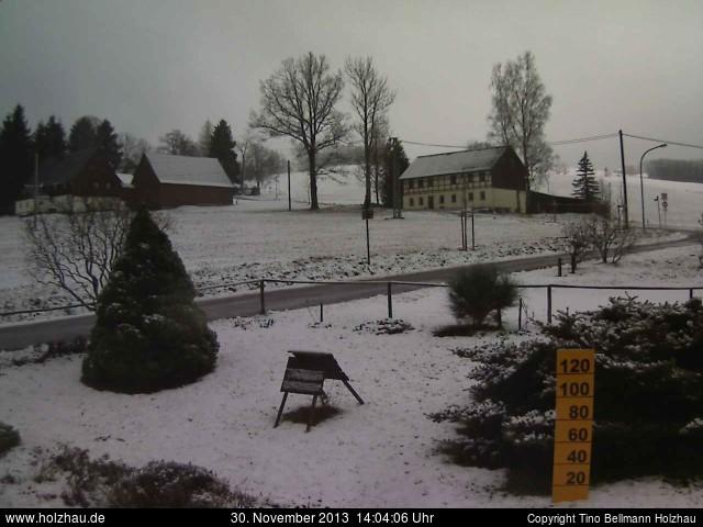 Wetter am 30.11.2013 in Holzhau (Erzgebirge)
