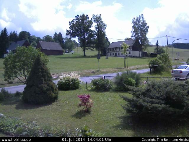 Wetter am 01.07.2014 in Holzhau (Erzgebirge)