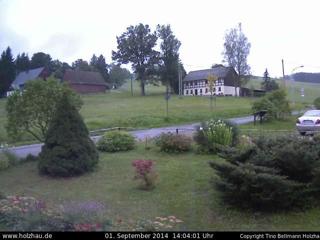Wetter am 01.09.2014 in Holzhau (Erzgebirge)