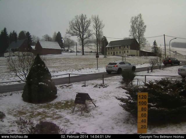 Wetter am 02.02.2014 in Holzhau (Erzgebirge)
