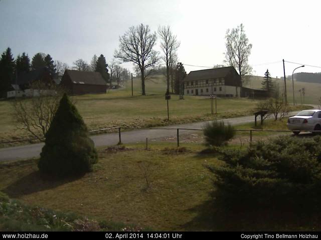 Wetter am 02.04.2014 in Holzhau (Erzgebirge)
