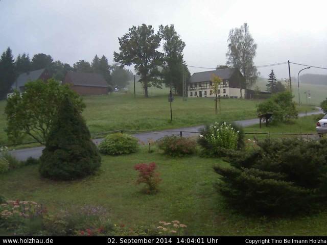 Wetter am 02.09.2014 in Holzhau (Erzgebirge)