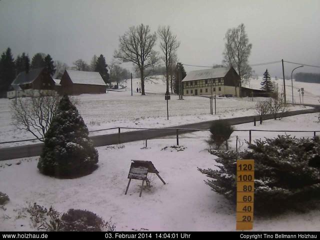 Wetter am 03.02.2014 in Holzhau (Erzgebirge)