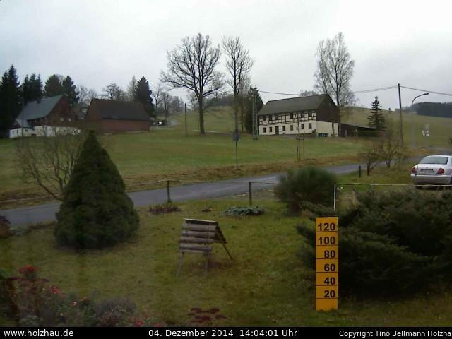 Wetter am 04.12.2014 in Holzhau (Erzgebirge)