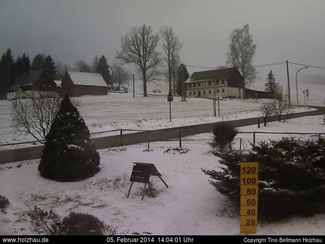 Wetter am 05.02.2014 in Holzhau (Erzgebirge)