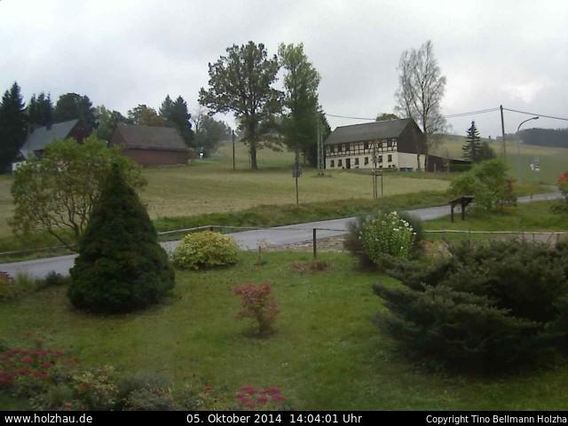 Wetter am 05.10.2014 in Holzhau (Erzgebirge)