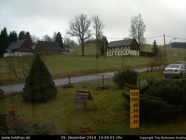 Wetter am 05.12.2014 in Holzhau (Erzgebirge)