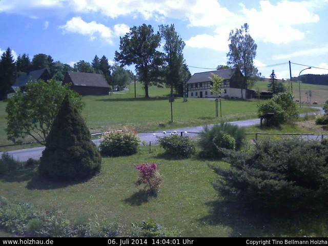 Wetter am 06.07.2014 in Holzhau (Erzgebirge)