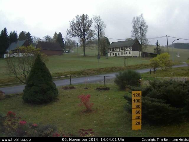 Wetter am 06.11.2014 in Holzhau (Erzgebirge)