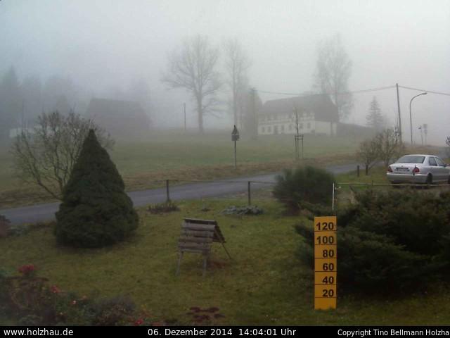 Wetter am 06.12.2014 in Holzhau (Erzgebirge)