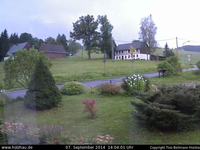 Wetter am 07.09.2014 in Holzhau (Erzgebirge)