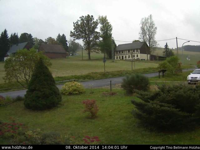 Wetter am 08.10.2014 in Holzhau (Erzgebirge)
