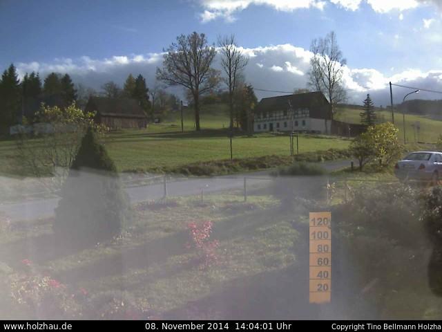 Wetter am 08.11.2014 in Holzhau (Erzgebirge)