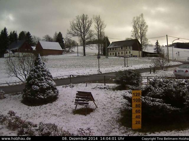 Wetter am 08.12.2014 in Holzhau (Erzgebirge)