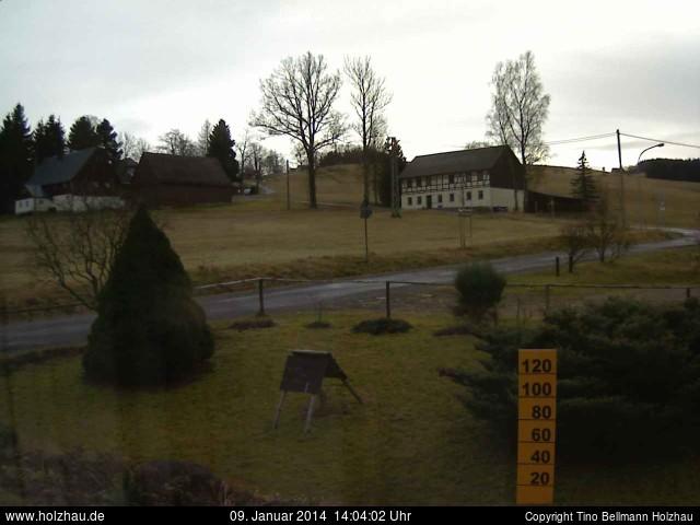 Wetter am 09.01.2014 in Holzhau (Erzgebirge)