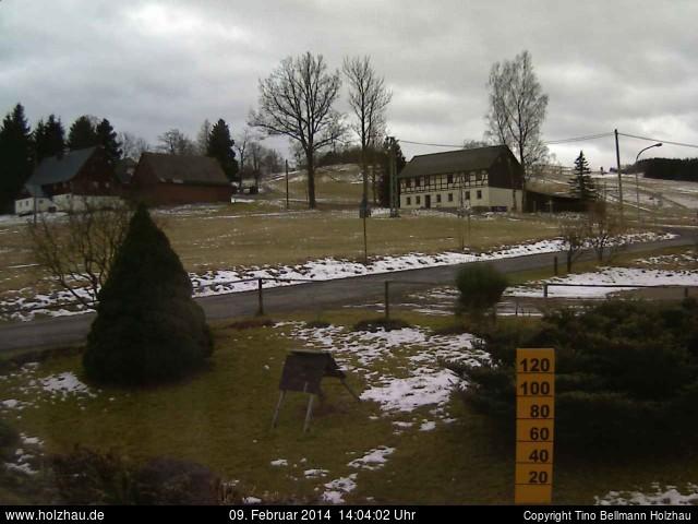 Wetter am 09.02.2014 in Holzhau (Erzgebirge)