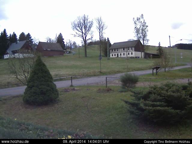 Wetter am 09.04.2014 in Holzhau (Erzgebirge)