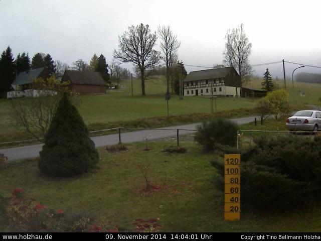 Wetter am 09.11.2014 in Holzhau (Erzgebirge)