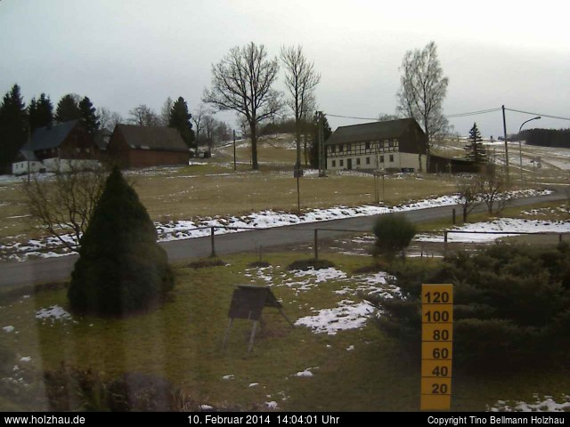Wetter am 10.02.2014 in Holzhau (Erzgebirge)