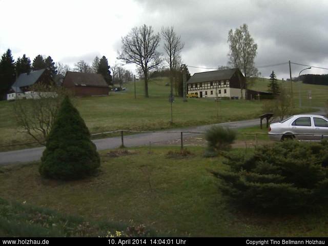 Wetter am 10.04.2014 in Holzhau (Erzgebirge)