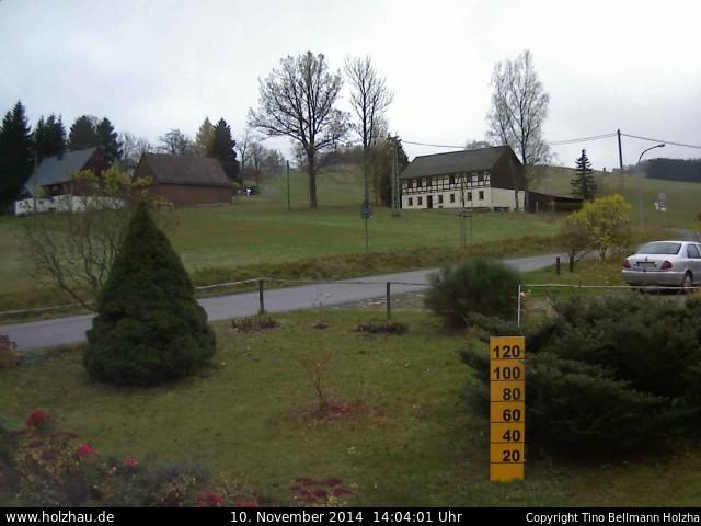 Wetter am 10.11.2014 in Holzhau (Erzgebirge)