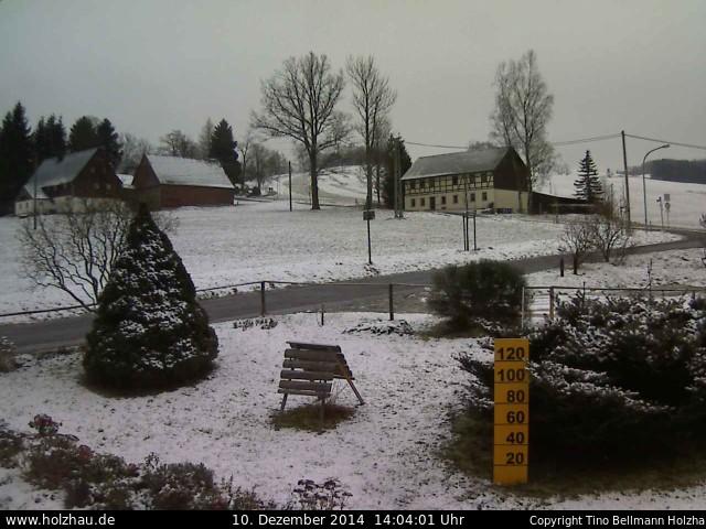 Wetter am 10.12.2014 in Holzhau (Erzgebirge)