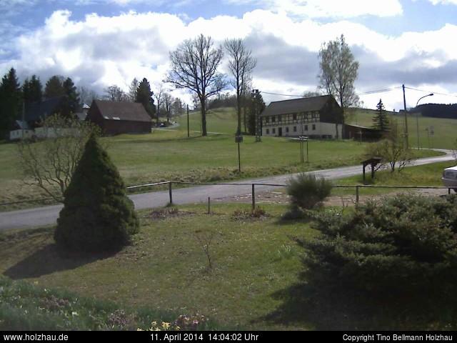 Wetter am 11.04.2014 in Holzhau (Erzgebirge)