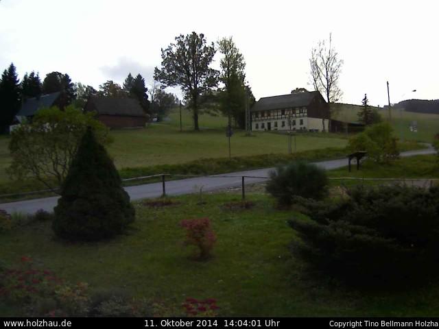 Wetter am 11.10.2014 in Holzhau (Erzgebirge)