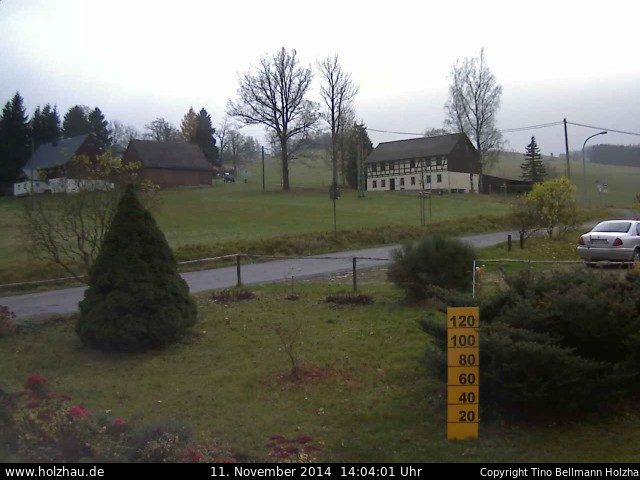 Wetter am 11.11.2014 in Holzhau (Erzgebirge)